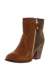 Charlie Paige Two Tones Booties - Back cropped