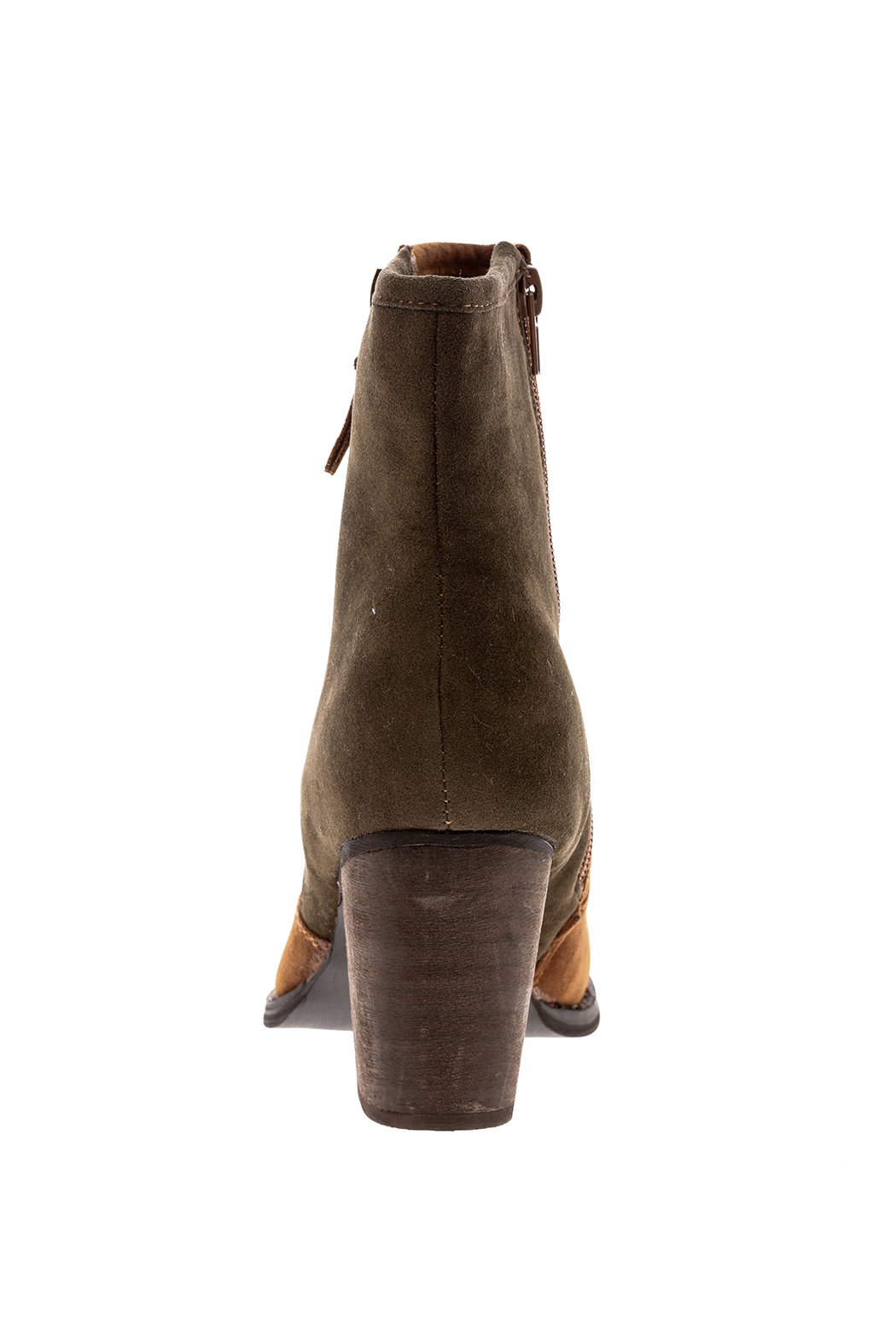 Charlie Paige Two Tones Booties - Front Full Image