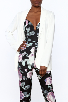 Charlie Paige Bold White Blazer - Product List Image