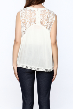 Charlie Paige Lightweight White Blouse - Alternate List Image