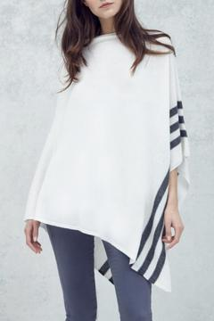 CHARLIE Rye Cashmere Poncho - Product List Image