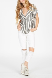 Knot Sisters Charlie Stripe Top - Product Mini Image
