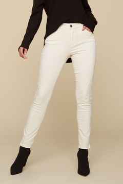 Charlie B. Ankle Zip Jeans - Product List Image