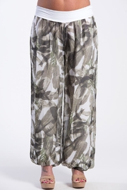 Charlie B. Cactus Silk Pant - Front cropped