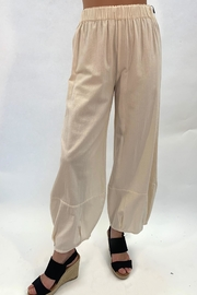 Charlie B. Cream Bell Pants - Product Mini Image