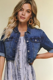 Charlie B. Denim Jacket Topper - Front cropped