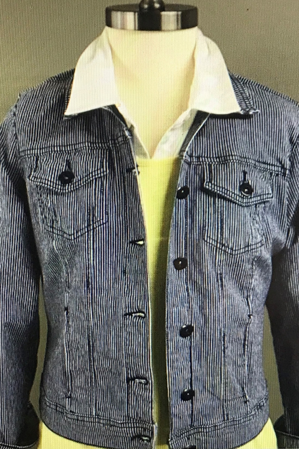 Charlie B. Dream Jean Jacket - Front Cropped Image