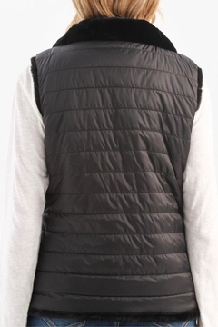 Charlie B. Faux Fur Reversible Vest - Alternate List Image