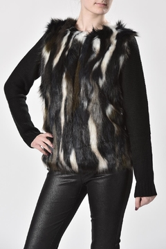 Shoptiques Product: Faux Fur Sweater