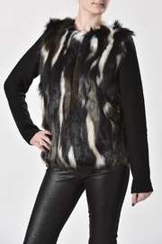 Charlie B. Faux Fur Sweater - Product Mini Image