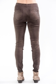 Charlie B. Faux Suede Pant - Front full body