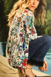 Charlie B. Floral Print Blouse - Product Mini Image