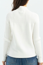 Charlie B. Funnel Neck Sweater - Front full body