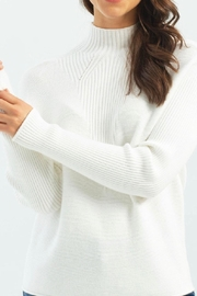 Charlie B. Funnel Neck Sweater - Front cropped