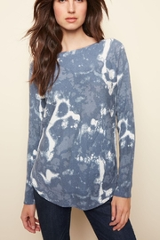Charlie B. Light Weight Sweater With Pockets - Product Mini Image