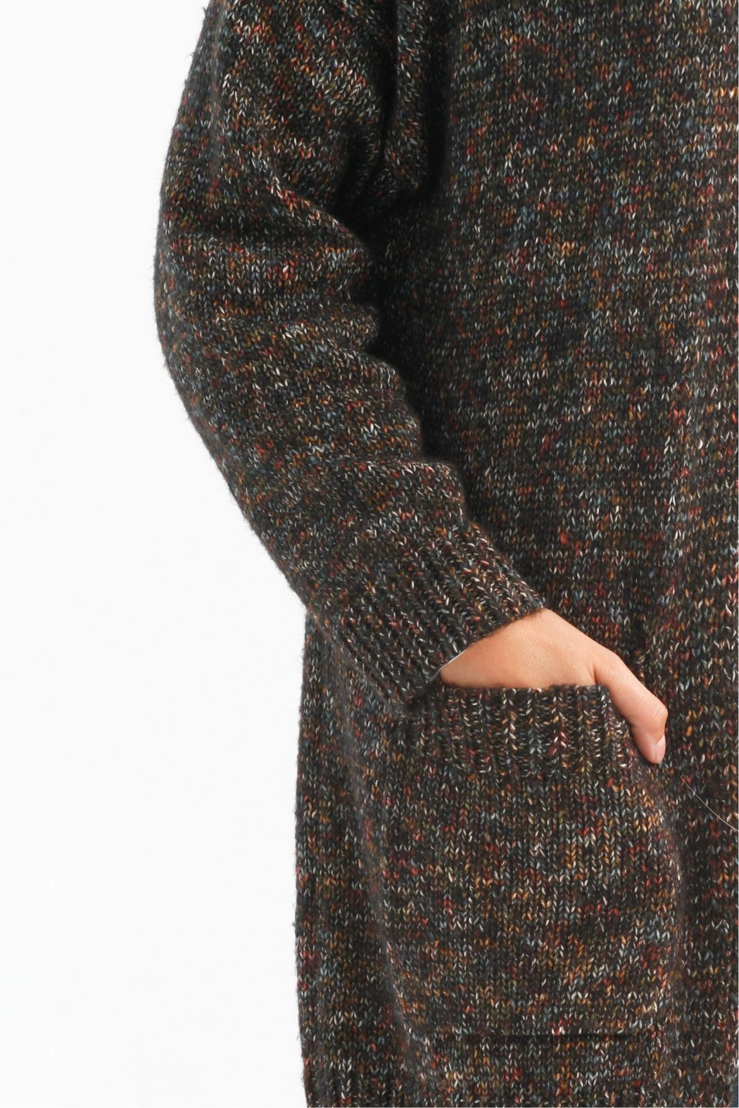 Charlie B. Multi Cardie With Pockets - Front Full Image