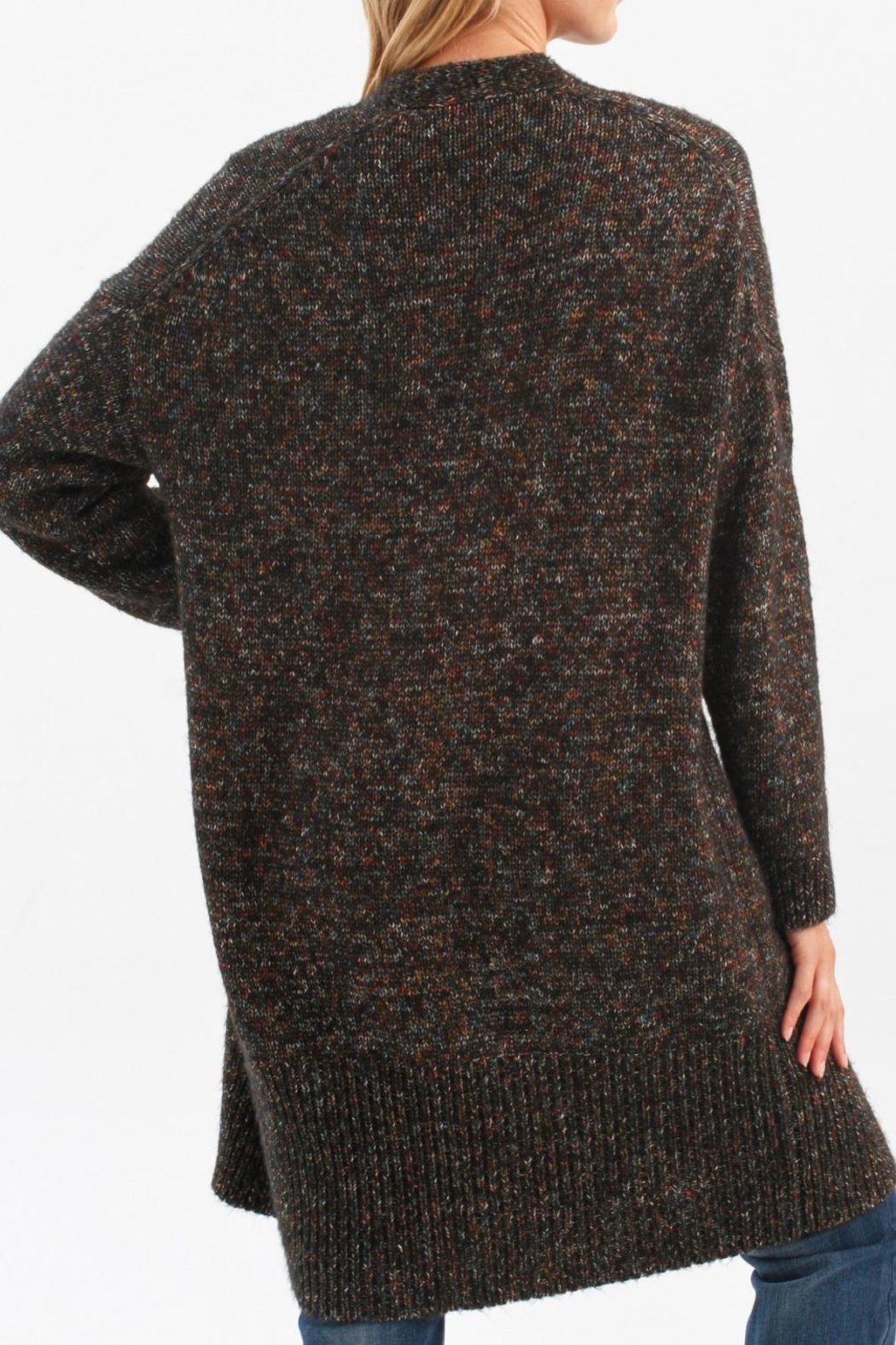 Charlie B. Multi Cardie With Pockets - Side Cropped Image
