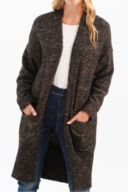 Charlie B. Multi Cardie With Pockets - Front cropped