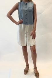 Charlie B. Ombre Denim Dress - Product Mini Image