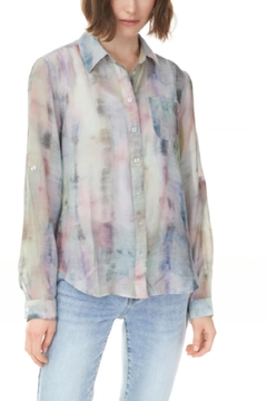 Charlie B. Pastel Button Up Top - Product List Image