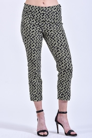 Charlie B. Patterned Crop Pants - Product Mini Image
