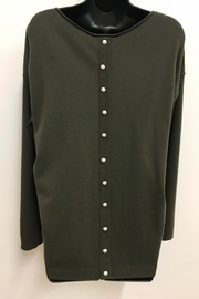 Charlie B. Pearl Back Sweater - Front full body