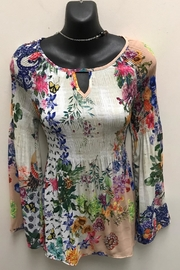 Charlie B. Rainbow Bell Sleeve Top - Product Mini Image