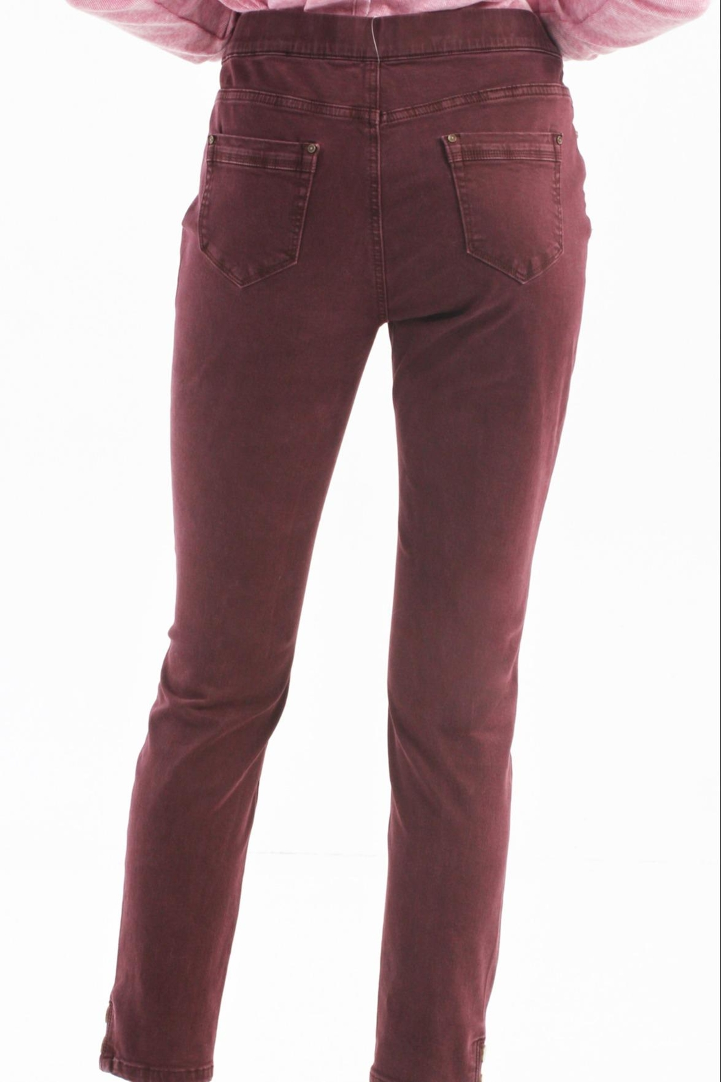 Charlie B. Raisin Pull On Jeans - Side Cropped Image