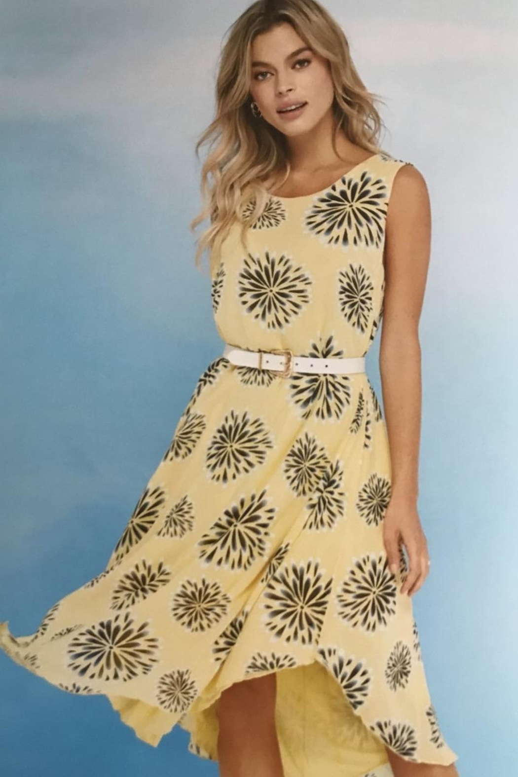 Charlie B. Ray Of Sunshine Dress - Front Cropped Image