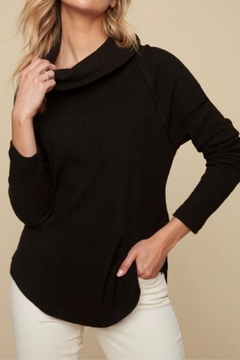 Shoptiques Product:  Ribbed Cowl Sweater