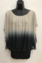 Charlie B. Silk Ombre Blouse - Product Mini Image