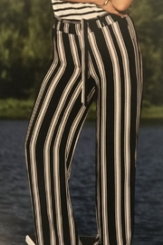 Charlie B. Striped Palazzo Pant - Product Mini Image