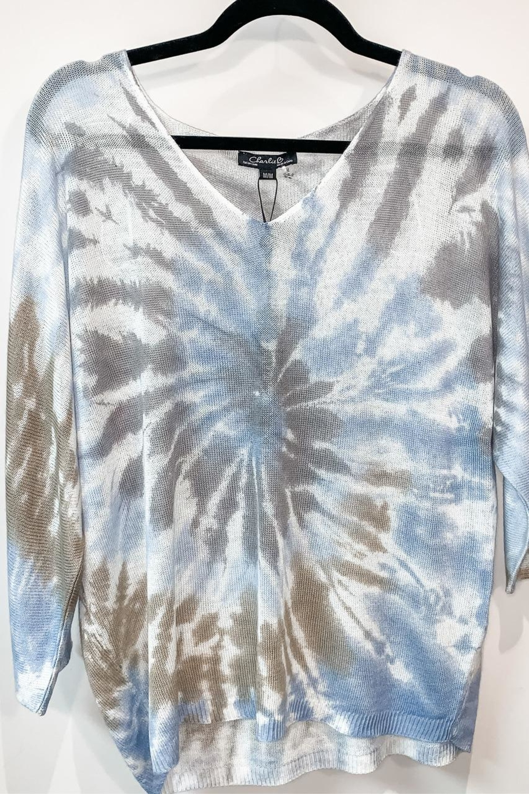 Charlie B. Tie-Dye Top - Front Cropped Image