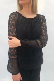 Charlie B. Tiered Lace Top - Product Mini Image