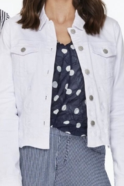Charlie B. White Denim Jacket - Front cropped