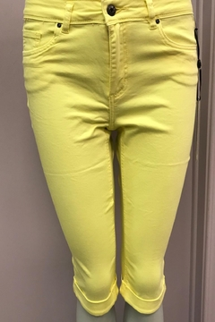 Shoptiques Product: Yellow Stretch Crop