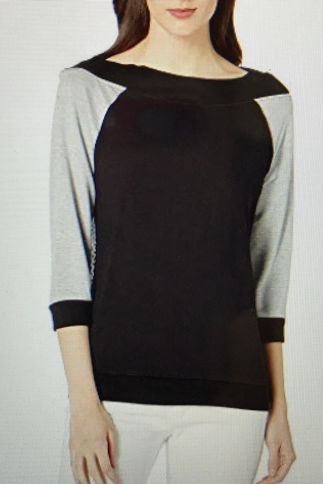 Charlie B. Zip Back Top - Front Cropped Image