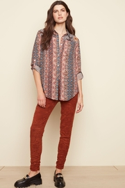 Charlie B Ginger Flowy Blouse - Product Mini Image