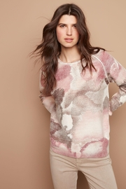 Charlie B Rose Watercolor Knit Top - Product Mini Image