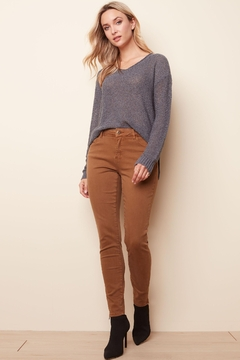 Charlie B Stretchy Ankle Pant - Product List Image