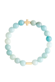 CHARGED Amazonite Bracelet - Product Mini Image