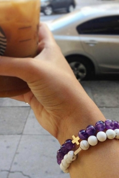 CHARGED Amethyst Charged Bracelet - Alternate List Image