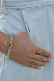 CHARGED Aventurine Bracelet - Front full body