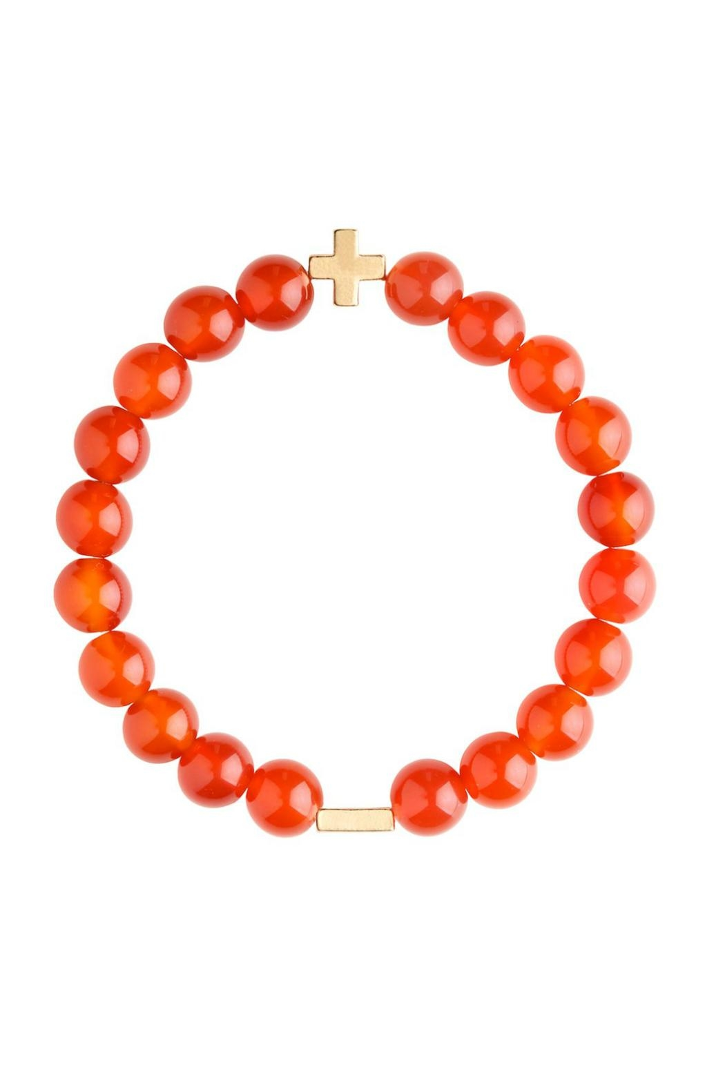CHARGED Carnelian Bracelet - Main Image