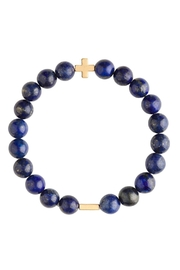 CHARGED Lapis Charged Bracelet - Front cropped