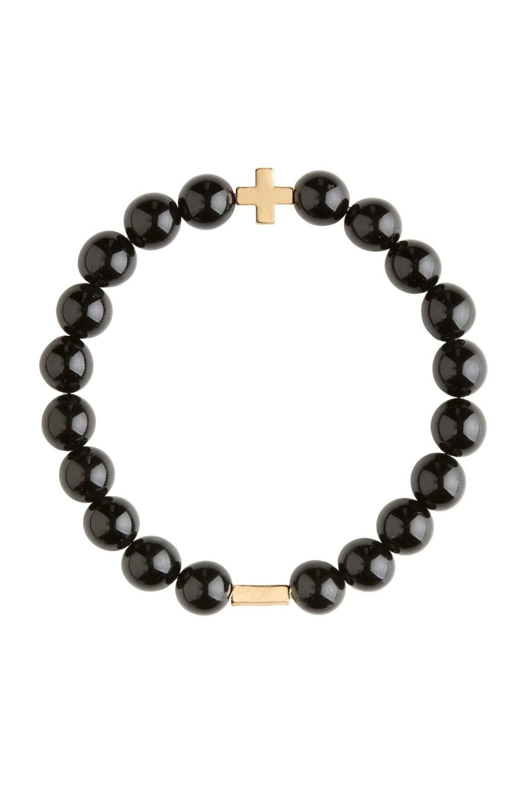 CHARGED Onyx Bracelet - Front Cropped Image