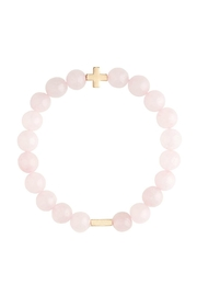 CHARGED Rose Quartz Bracelet - Product Mini Image