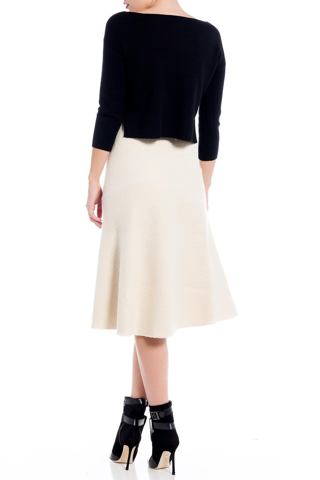 Charlie May Bias Cut Skirt - Side Cropped Image