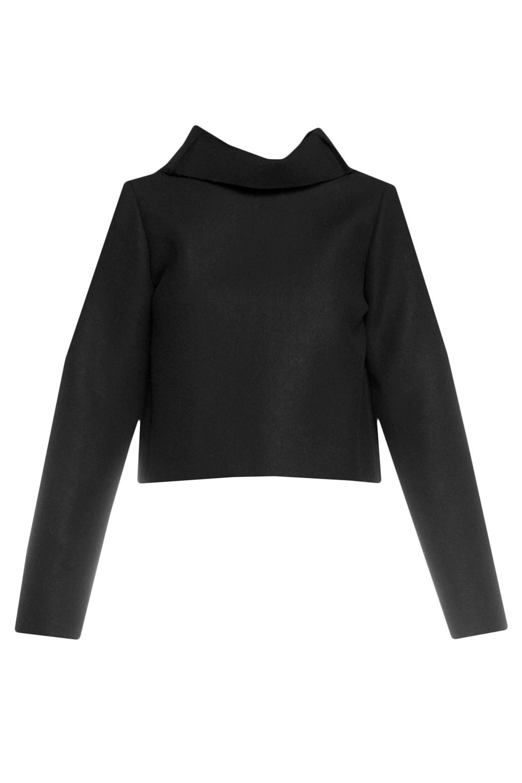 Charlie May Cowl Neck Top - Front Cropped Image