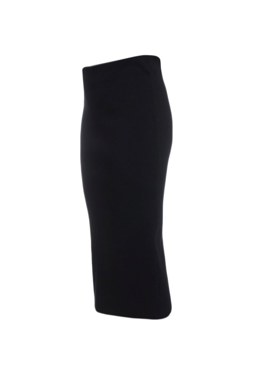 Charlie May Knit Pencil Skirt - Front Full Image
